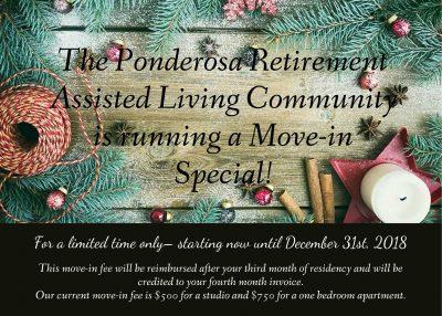 November-December 2018 Move-in Special